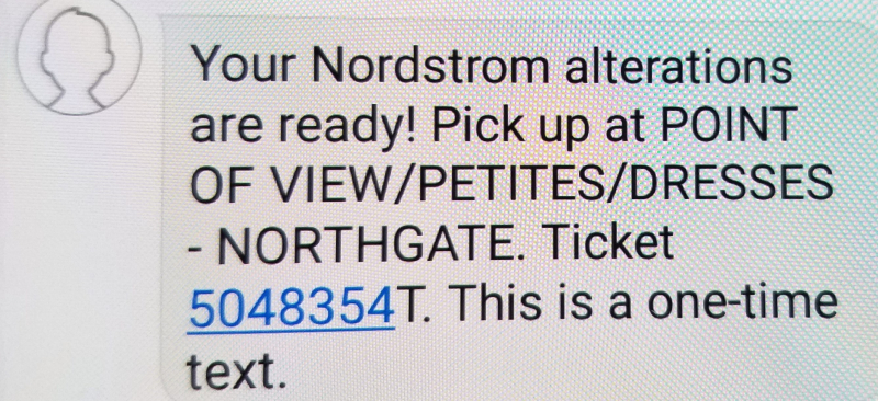 Nordstrom text