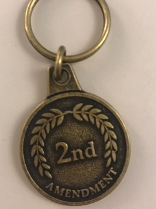 Second Amendment Key Chain